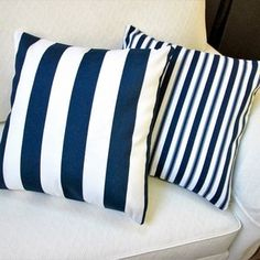 Artisan Pillows 18-inch Outdoor Navy Blue Throw Pillow Covers (Set of 2) - Free Shipping Today - Overstock.com - 20351071 - Mobile