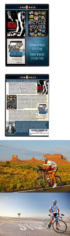 Books and Video 62130: Bicycle Dreams/Race Across America/Bicycle Movies Dvd Three Pack BUY IT NOW ONLY: $49.99