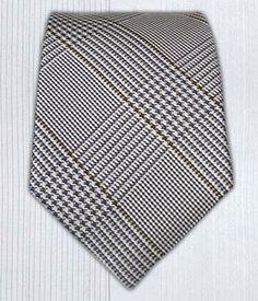 Skinny - Glen Plaid || Ties - Wear Your Good Tie. Every Day - Glen H. Plaid Silk (Skinny) Ties