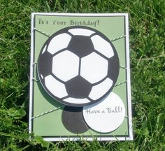soccer birthday card - Google Search                                                                                                                                                     More