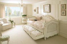 Feminine Shabby Chic Bedroom Interior Ideas and Examples | | Founterior