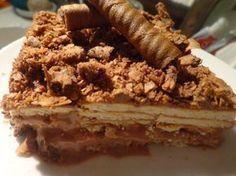 Greek Desserts, Party Desserts, Greek Recipes, Desert Recipes, Yogurt Cake, Icebox Cake, Cookbook Recipes, Candy Recipes, Different Recipes