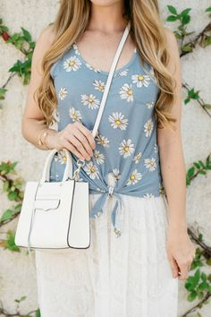 Daisy Top / Lace Skirt / Summer Style / Fashion / Outfit Ideas
