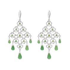 Chandelier - Ohrringe Lucky - Silber - Art.-Nr.: OH4149-AV  #Leafschmuck #Leafjewelry #jewelry #rose #rosé #gold #fashion #style #stylish #cute #beautiful #beauty #jewelry #jewels #jewel  #fashion #gems #gem #gemstone #bling #stones #stone #trendy #accessories #love #crystals #ootd #fashionista #accessories #fashionjewelry #look #outfit #earrings