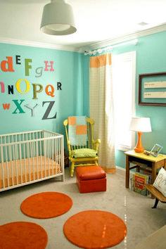 Adorable Gender Neutral Kids Bedroom Interior Idea (16)