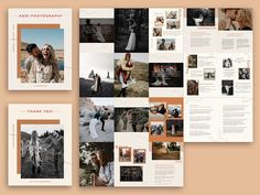 Ad: Wedding Photographer Magazine by Signature Edits on Wow your couples with this wedding photography magazine for photographers. This is an easy to edit 20 page photoshop template, perfect for Wedding Photography Marketing, Photography Flyer, Photography Business, Photography Magazine, Image Collage, Bussiness Card, Bridal Show, Timeline, Photographers
