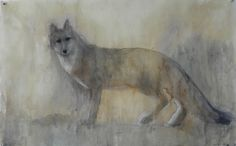 Jane Rosen - Drawings - Herding