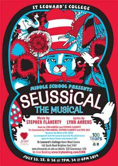 """My godchild Adele is in """"Seussical The Musical"""". We went last night - it was a great production! (& she was excellent, of course!)"""