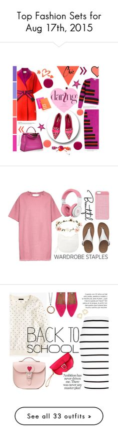 """""""Top Fashion Sets for Aug 17th, 2015"""" by polyvore ❤ liked on Polyvore featuring Fendi, Nicholas Kirkwood, Kate Spade, Arche, Roksanda Ilincic, Nails Inc., Marques'Almeida, Forever 21, Accessorize and FitFlop"""
