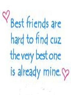 To my Bestie Michelle! ❤❤ I love you! Alison