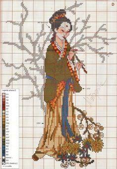 Gallery.ru / Photo # 5 - Japanese women-seasons - mila010154
