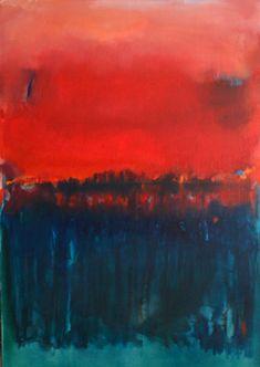 Gabriella Moussette, The Line, Peinture