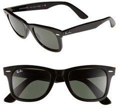 Ray-Ban 'Classic Wayfarer' 50mm Sunglasses #sunglasses #womens #summer