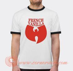 Wu Tang Ice Cream French Vanilla T-shirt Price: 17.00 Custom T, Custom Design, Popular Clothing Stores, Wu Tang, French Vanilla, Cheap Shirts, Shirt Price, Ice Cream, Gelato