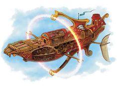 spelljammer ships - Google Search