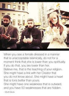 - Mufti Menk Do we dare not judge, that right belongs to Allah and him alone. #Islam #Allah #women