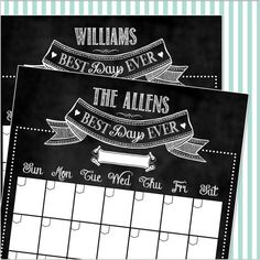 20 Off 18x24 Personalized Chalkboard by SincerelyYoursPaper, $36.00