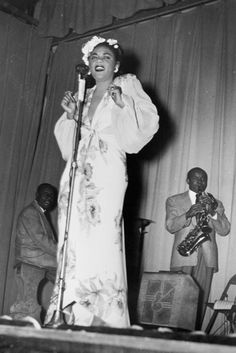 """Billie Holiday was a flower child. Not the 60s type, but a 1930's bluesy babe that made adorning her hair with a trail of flowers her signature style and the """"mane"""" attraction no matter what smashing dress she was wearing."""