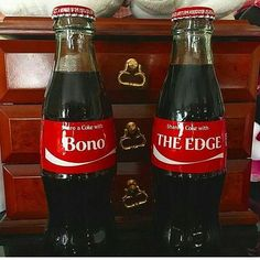 I'd share a coke any day Adam Clayton, U2 Music, Music Bands, Great Bands, Cool Bands, The Edge U2, Achtung Baby, Paul Hewson, Larry Mullen Jr