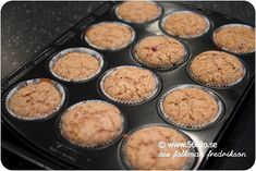 Jag har provat och mixtrat ihop ett i mitt tycke ett perfekt grundrecept för muffins! Kan smaksättas som man vill! Detta är… Lchf, Griddle Pan, Sweet Tooth, Gluten Free, Sweets, Bread, Breakfast, Healthy, Desserts