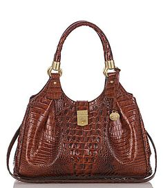 Brahmin Lady Melbourne Collection Elisa Hobo Bag #Dillards (Like Pecan color)-Not this one?