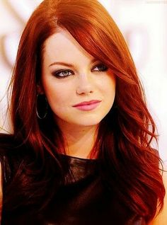 Hair Colours: Emma Stone and Red Hair