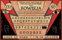 Bowieja Board - Offensive or Genius?