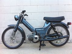 Maxi Anne - Custom Puch Maxi Moped