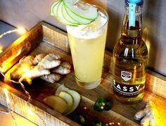 La recette du Natural Climax par le bartender Guillaume Leblanc du Dirty Dick à Paris. Ce cocktail est préparé à base de blanc d'oeuf et de poiré.