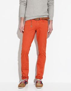 Zara makes these great 'slim fit trousers' that I'm loving for spring/summer.  Great weight, and they look amazing.