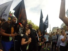 Battle Run ,sept 2014 team #boostbirhakeim. Adidas Boost Battle Run