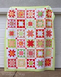Woodberry Way: Sawtooth Star Quilt