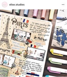 travel scrapbook 68 New Ideas for travel journal ideen paris Best Travel Journals, Travel Journal Pages, Travel Journal Scrapbook, Bullet Journal Travel, Art Journal Pages, Art Journals, Kunstjournal Inspiration, Bullet Journal Inspiration, Sketchbook Layout
