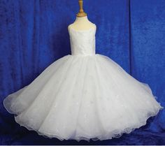 Bespoke Made to Measure Big Fat Gypsy First Communion Dress - Margaretta - Wide Multi Layered Tulle and Organza First Communion Dress- Beautiful Girls First Communion Dresses - Berkshire Supplier