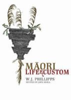 Cover image for Māori life and custom