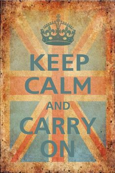 my love for inspirational quotes and all things british :).  From WWII during German bombing campaign.