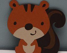 Woodland Animals-Set of 8 von CraftingCrew auf Etsy