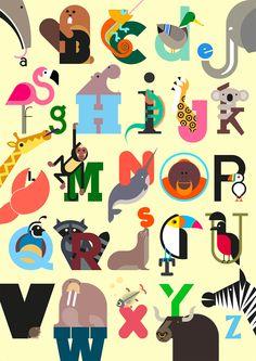 Animal Alphabet / build