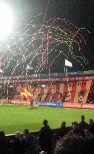 Go Ahead Eagles (Dutch soccerteam) promoted to the upperleague