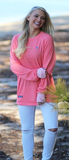 Asheville Terry Sweater | Lakeside Cotton Lakeside Cotton, Marley Lilly, Southern Marsh, Monogram Gifts, Asheville, Jewelry Gifts, Unique, Sweaters, Clothes