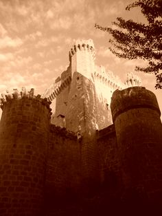 Castle of Sajazarra. La Rioja. Spain.