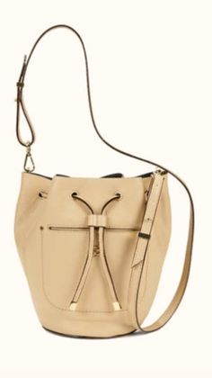 Ann Taylor mini-bucket bag