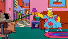 Detective privado en el capítulo 'Homer tamaño king size' (no aparece trabajando pero Marge lo menciona)