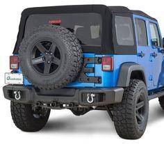 TACTIK® Rear Bumper | Jeep Parts and Accessories | Quadratec