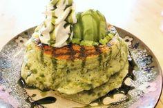 50分待っても食べたい!ふわっふわの濃厚抹茶パンケーキ、京都のカフェ アリエッティで [えん食べ]