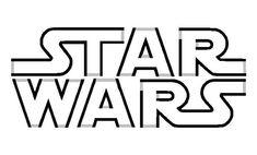 Star wars pumpkin stencils carving pattern outline free printable