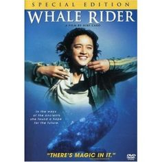 Whale Rider - A beautiful and poignant film about a young, mighty girl who sets out to find her place and challenges her cultural heritage to become the tribal leader. One for fans of beautiful scenery and films with a strong environmental and empowering message.