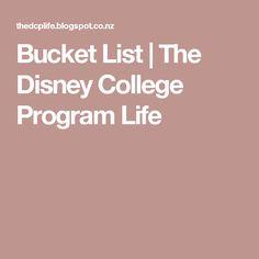 My Official Disney College Program 2014 Bucket List This is my Disney College Program spring advantage 2014 bucket List. Disney Tips, Disney Magic, Disney World Trip, Disney Parks, Disney Internship, Life After High School, Disney Cast Member, Disney College Program, Disney Dream