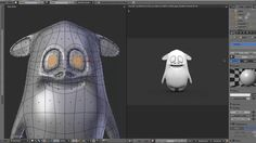 Modeling a Cartoon Character in Blender, Modeling a Cartoon Character in Blender…