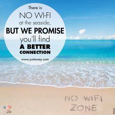 #justaway #travel #quote #sea #beach #digitalnative